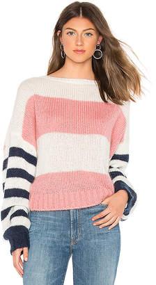 One Teaspoon Heather Stripe Sweater