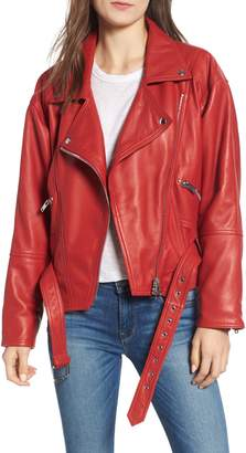 Hudson Jeans Leather Jacket
