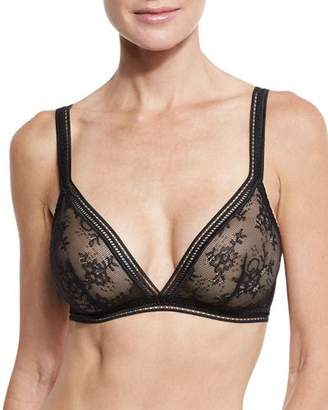 Lejaby Maison Miss Triangle Bra, Black