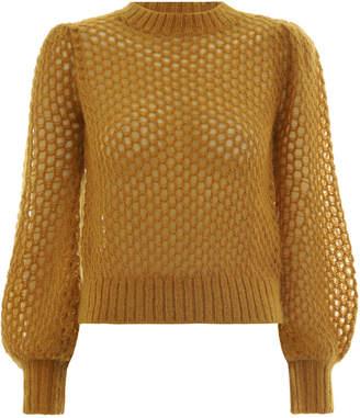Zimmermann Unbridled Crop Sweater