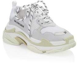 Balenciaga Women's Triple S Sneakers - Bianco - Size 40 (10)