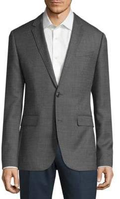 HUGO BOSS Textured Wool Sportcoat