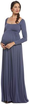 Maternity Isa Dress - Slate,