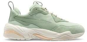 Puma Women's Thunder Desert Sneakers - Green - Size 7.5
