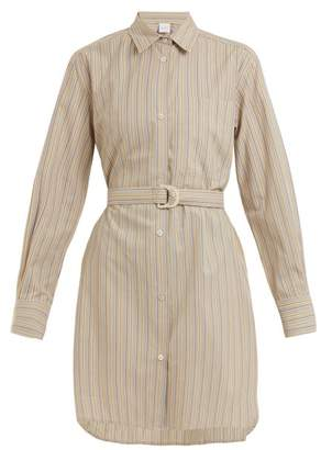 Max Mara Beachwear - Gioiosa Shirtdress - Womens - Khaki Stripe