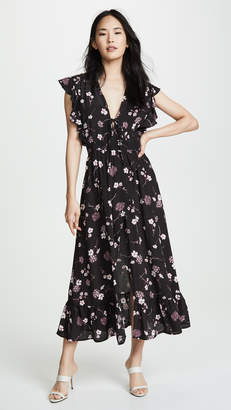 MinkPink Night Garden Maxi Dress