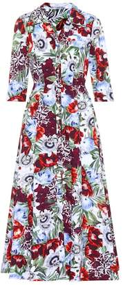 Erdem Kasia floral-printed cotton dress