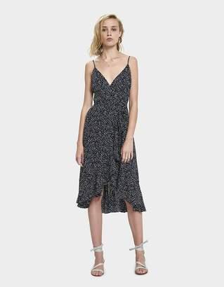 Farrow Lili Polka Dot Wrap Dress