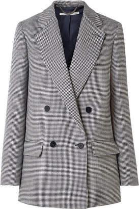 Stella McCartney Milly Oversized Wool-tweed Blazer - Navy