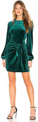 Yumi Kim Tie Me Over Velvet Dress