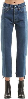 Vetements Reworked Push-Up Cotton Denim Jeans