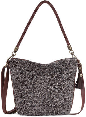 The Sak Fairmont Crochet Bucket Small Hobo
