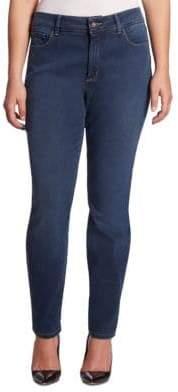 NYDJ NYDJ, Plus Size NYDJ, Plus Size Women's Skinny Legging Jeans - Rome - Size 14W