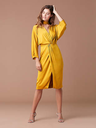 Diane von Furstenberg Front Twist Dress