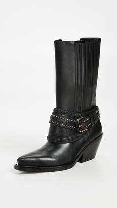 Zimmermann Cowboy Mid Calf Boots