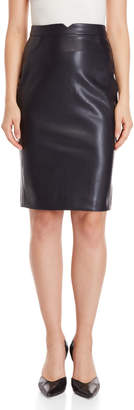 philosophy Faux Leather Pencil Skirt
