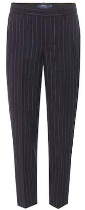 Polo Ralph Lauren Cropped wool trousers