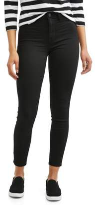 Time and Tru Women's High Rise Sculpted Ankle Jegging