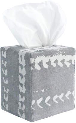 Lulu & Georgia Mildred Vines Tissue Box Cover, Grey