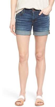 Caslon Rolled Denim Boyfriend Shorts