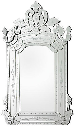 One Kings Lane Venetian Mirror - Clear