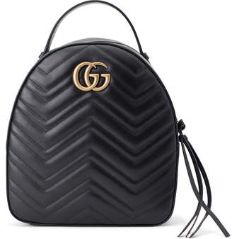 Gucci Marmont Backpack GG Interlocking