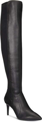 INC International Concepts I.n.c. Izetta Over-The-Knee Sock Boots, Women Shoes