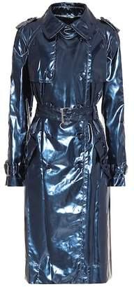 Marc Jacobs Metallic vinyl trench coat