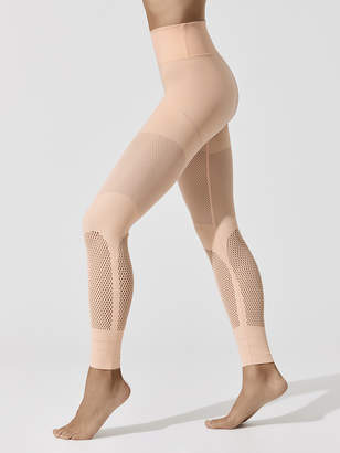 Hi Waisted Sculpt Mesh Legging