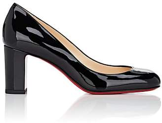 Christian Louboutin Women's Cadrilla Patent Leather Pumps - Black