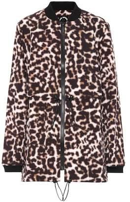 The Upside Leopard-printed jacket