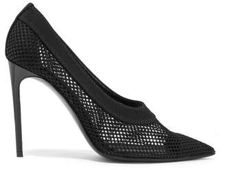 Stella McCartney Fishnet Pumps - Black