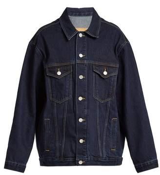 Martine Rose Oversized Denim Jacket - Womens - Denim