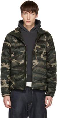 Canada Goose Black Black Label Camo Brookvale Jacket