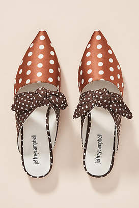 Jeffrey Campbell Polka Dot Charlin Mules