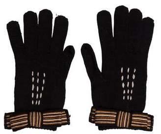 Missoni Wool-Blend Embellished Gloves