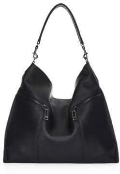 Botkier New York New York Women's Trigger Leather Hobo - Black