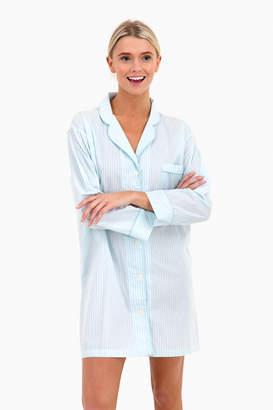 Marigot Collection Seaglass Stripe Night Shirt