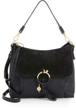 See by Chloé See by Chloé Women's Joan Medium Leather Shoulder Bag - Caramello