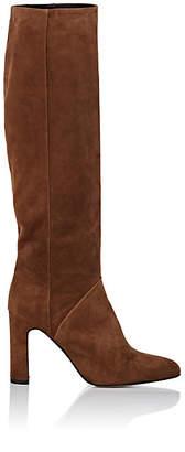 Barneys New York Women's Suede Knee Boots - Brown