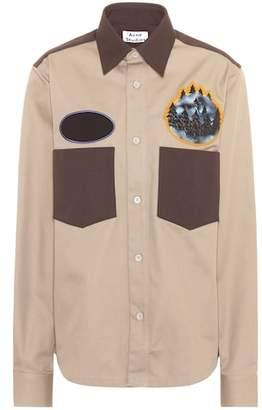 Acne Studios Seattle cotton-blend shirt