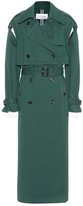 Valentino Jersey trench coat