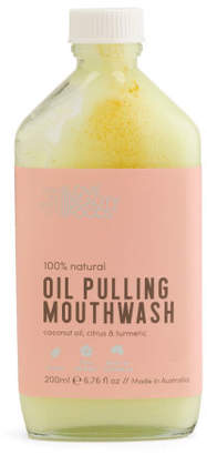 Made In Australia 6.76oz Turmeric Oil Pulling Mouthwash
