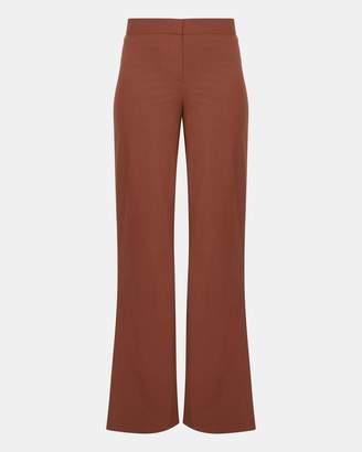 Theory Good Wool High Slit Pant