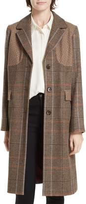 Helene Berman Mix Check Coat