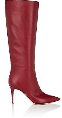 Gianvito Rossi Women's Leather Knee Boots - Wine