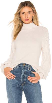 Autumn Cashmere Popcorn Sleeve Sweater