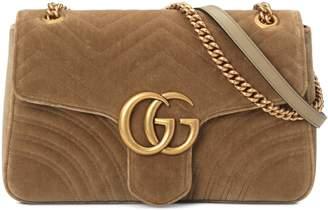 Gucci GG Marmont velvet medium shoulder bag