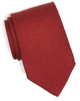 Drakes Drake's Wool/Cashmere Textured Tie