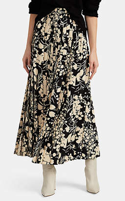The Row Women's Lawrence Silk Maxi Skirt - Black